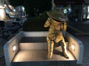 ウルトラマン商店街のカネゴン像