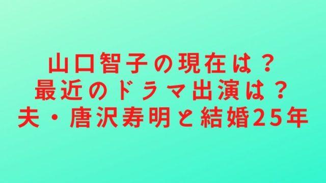 山口智子の記事